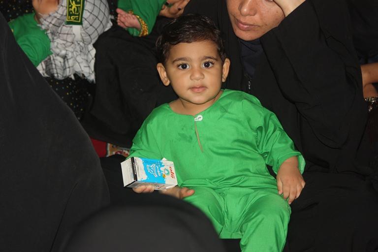 همایش شیرخوارگان حسینی قشم